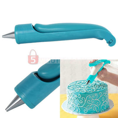 Piping Nozzle Tips Icing Bag Craft Decor Chocolate Sugar Cake Decorating Pen Kit