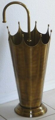 Solid Brass Umbrella Stand Antique Reproduction Vintage Styling Z3377AB