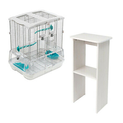 Vision Bird Cage Small, Single or Double, Optional Stand and Papers