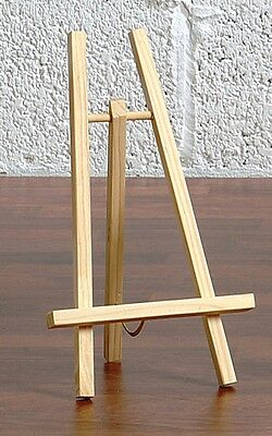 Loxley CHESHIRE Mini Sign / Print / Canvas Display Table Top Wooden Easel