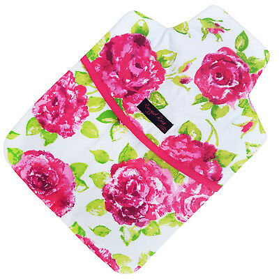 Ragged Rose Floral Hot Water Bottle Cover