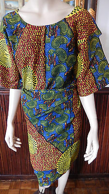 Oleku/ African Print/ Ankara Outfit (Cut Out Arm)