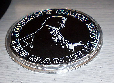 Johnny Cash Coaster - The Man in Black