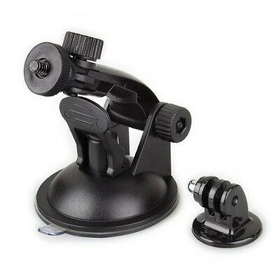 Universal Suction Cup Holder+Tripod Adapter Tripod Mount for GoPro Hero 3/2/1 LW