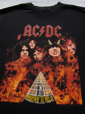 ACDC highway to hell MEDIUM T-SHIRT