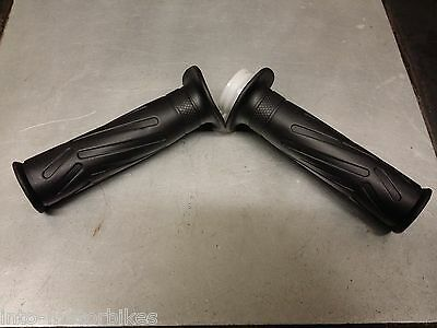 Twist Grip Set Handlebar Grips Left And Right For Ybr125 Ybr 125 Correct Pattern