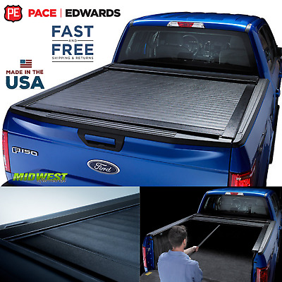 "Pace Edwards Switchblade Retractable Tonneau Cover 07-19 Toyota Tundra 5'7"" Bed"