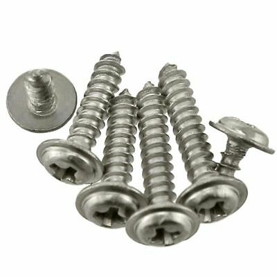 50Pcs M2 M3 M4 Round Washer Head Phillips Self-tapping Screws 304Stainless Steel