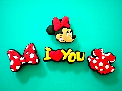 Clog Shoe Button Pin Charm For Accessorie Mickey Mouse For Bracelet