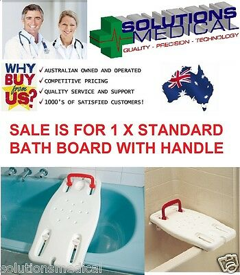 Bath Board Plastic Standard Adjustable Width With Handle