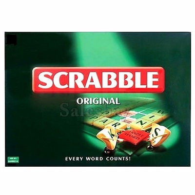 New Scrabble  Board Game Indoor Family Fun Party