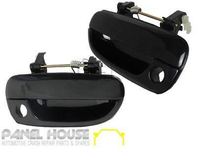 HYUNDAI Accent 2000-2005 PAIR L+R FRONT Exterior Door Handle OUTER Brand NEW
