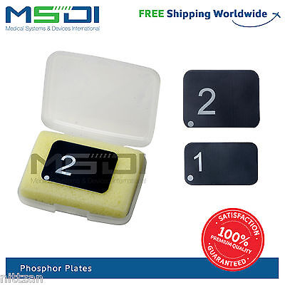Phosphor Plate Sizes 0, 1, 2 for all known Digital Scanners x-ray 2000 uses