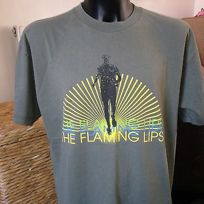 Vintage Retro The Flaming Lips Collectable Rare Music T-Shirt Mens Size XL