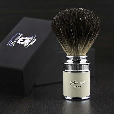 Top quality Best Shaving brush hand Made in England 100% Natural badger Hair