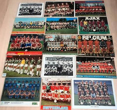 Laminated Football Team Group Magazine Posters- International & European Clubs