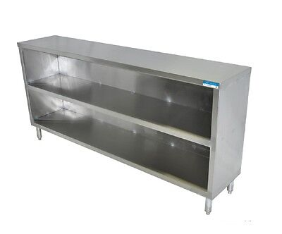 Stainless Steel Dish Cabinet, Restaurant, Commercial, Storage, Shelf, BBKDC