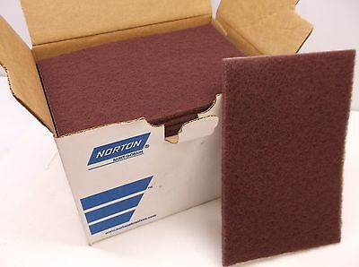 "LOT OF 20 NEW NORTON 74700 Very Fine Grade Sanding Hand Pad 6"" x 9"" (B17)"