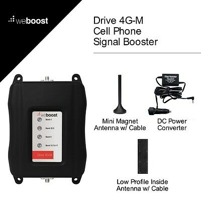 Wilson weBoost Drive 4G-M Wireless Vehicle Cell Phone Signal Booster - 470108