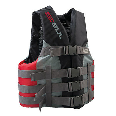 Gul Impact Vest Red Jacket Buoyancy Aid Jetski Waterski Speedboat Powerboat