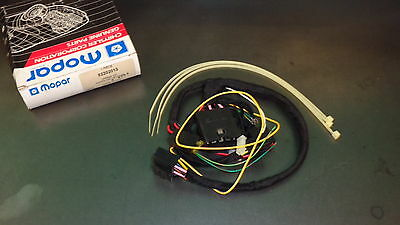 New Oem Nos Mopar Alarm Keyless Entry Wiring Kit 82202013 Dodge Plymouth Chrysle