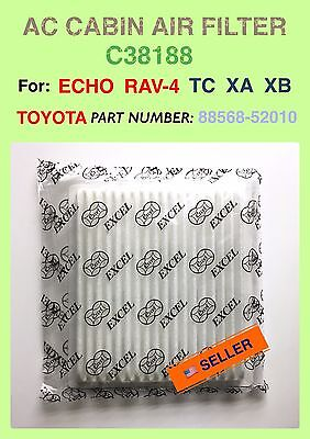 SCION TC XA XB TOYOTA Rav-4 Echo AC CABIN AIR FILTER OEM PREMIUM QUALITY C38188