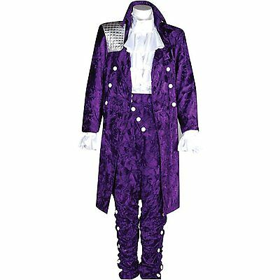 Prince Purple Rain Outfit- With or Without Satin Shirt- NEW