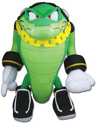 "Licensed Sonic Hedgehog Plush Doll (GE-52633) -  14 "" Vector the Crocodile"