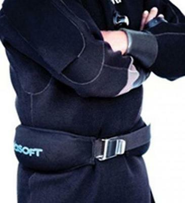 Seasoft Soft Weight Belt for Divers and Snorkelers- 20 Lbs.