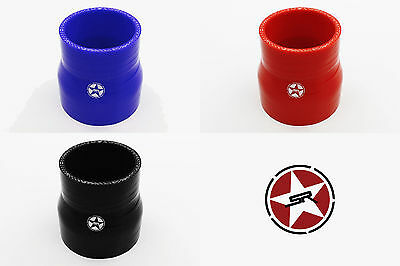 Stoney Racing Silicone Straight Reducer Drop Down Hose Coupler Joiner Pipe Clamp