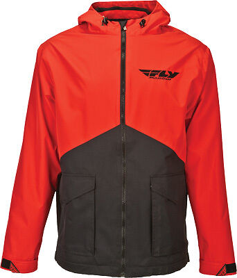 Fly Racing Pit Jacket Red/Black XL