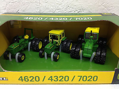1/64 Ertl John Deere 4320, 4620 & 7020 40Th Anniversary Set