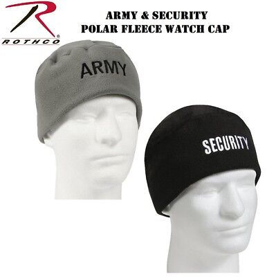 4d9147bd293 US ARMY EMBROIDERED POLAR FLEECE BEANIE Knit Hat Skull Cap Infantry ...