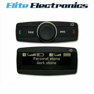 iO TALK2 ADVANCED BLUETOOTH HANDSFREE KIT CAR VAN OLED DISPLAY SCREEN PHONE