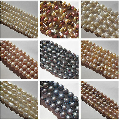 Wholesale 4 of Large 10mm Black Close Round Cultured Freshwater Loose Pearl Bead