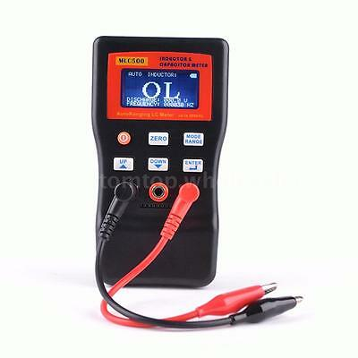 MLC-500 LCD AutoRanging LC Meter Capacitance Inductance Table up to 500 KHz 5TG3