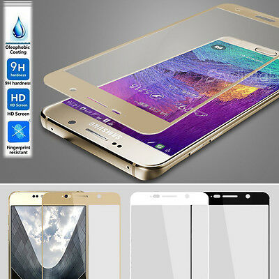 Full Coverage Tempered Glass Film Screen Protector for Samsung Galaxy Note 5