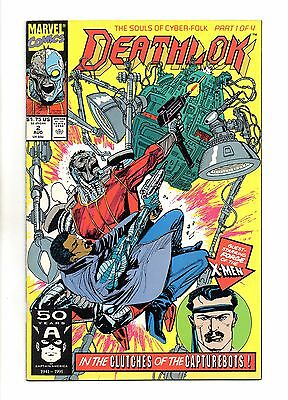 Deathlok Vol 1 No 2 Aug 1991 (VFN+) Marvel Comics, Modern Age (1980 - Now)