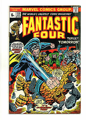 Fantastic Four Vol 1 No 139 Oct 1973 (FN+ to VFN-) Marvel, Bronze Age(1970-1979)