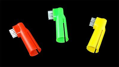 Finger Toothbrush Ideal For Pets - Dog - Cat - Handy - Multi Listing - Grooming