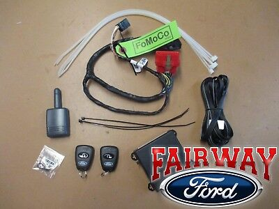 2011 thru 2015 Explorer OEM Genuine Ford Scalable Remote Start & Security Kit