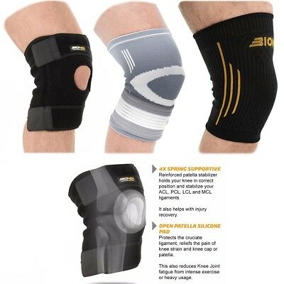 Gallant Knee Support Brace Hinged Open Patella Strap Stabilising Adjustable NHS