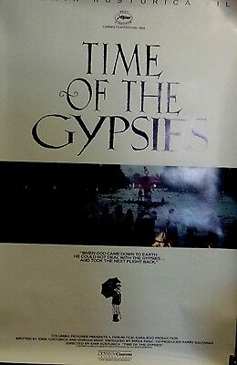 """Time of the Gypsies Original 1988 Single Sided 27""""x40""""  Movie Poster"""