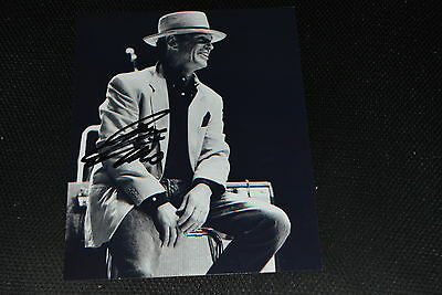 GEORGIE FAME  signed Autogramm 20x25 cm In Person