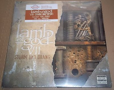 LAMB OF GOD VII: Sturm und Drang - Epic 88875110271 SEALED