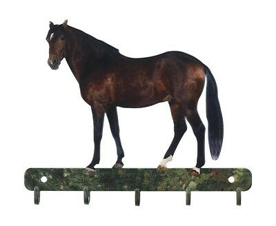 Horse Key Rack Farm Farming Metal Wall Art Made In USA