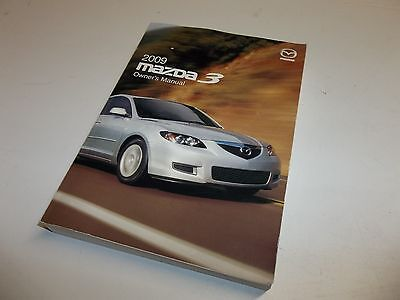2009 mazda 3 factory oem owners manual in case 11 99 picclick rh picclick com mazda 3 owners manual 2009 pdf Mazda 3 Manual Gear Stick