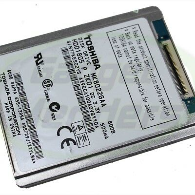 MK8022GAA 80GB Toshiba Hard Drive HDD Replacement For Apple iPod Classic 6th Gen