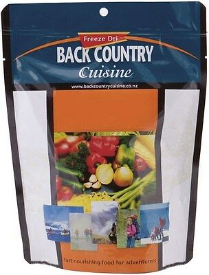 Back Country Cuisine Freeze Dried Food 1 Serve - Classic Beef Curry