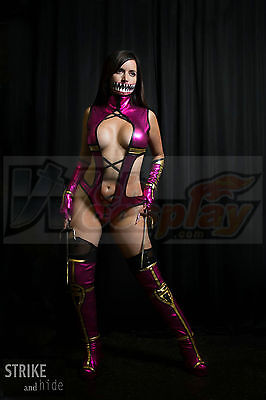Mortal Kombat Mileena Cosplay Costume Custom Made